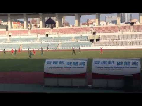 Macau 1-3 Hong Kong U 23 Interport 2014