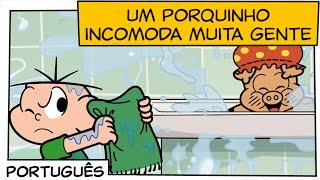 Um porquinho incomoda muita gente   Turma da Mônica