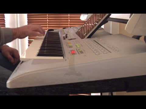 (I am) Sailing played on the Yamaha Tyros 3