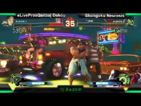 SS2K12 AE2012: Dakou (Ryu) vs Shungoku Neurosis (Bison) - Day 1 (Winners Pool Match)