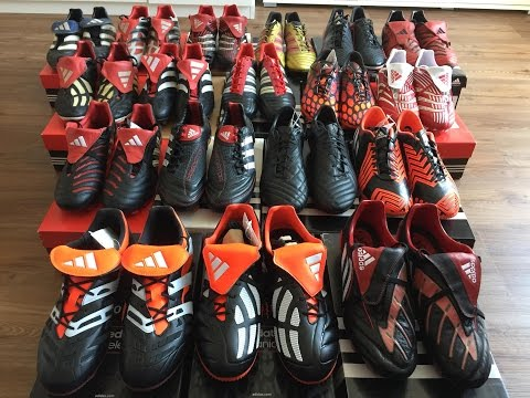 Adidas Predator COLLECTION History - Mania. Accelerator. Pulse. LZ. Absolute - UEFA EURO 2016 France