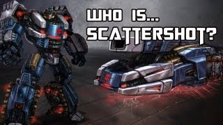 Who is Scattershot? (Transformers History)