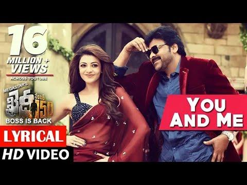You And Me Full Song lyrical | Khaidi No 150 | Chiranjeevi, Kajal | Rockstar DSP | V V Vinayak thumbnail