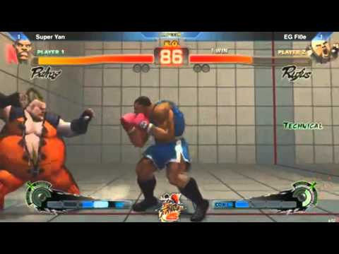 Street Fighter 25th Anniversary Los Angeles Qualifier Pools SSF4 AE 2012