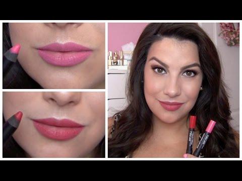 Sonia Kashuk Velvety Matte Lip Crayon Review
