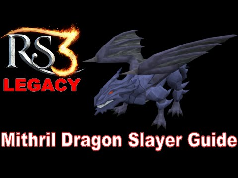 Runescape 3 LEGACY Slayer Guide – Mithril Dragons