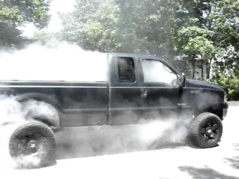 2005 Ford F 250 6 0 Diesel Smoke Show Edge Exhaust Cold