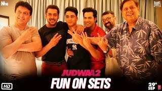 Judwaa 2 | Fun On Sets | Varun | Jacqueline | Taapsee | David Dhawan