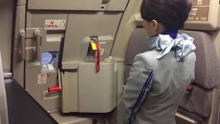 ANA A320 Door Open