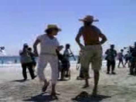 Baile compadre en la Costa