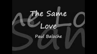 Watch Paul Baloche The Same Love video