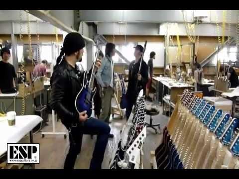 Esp Guitar Factory Tour