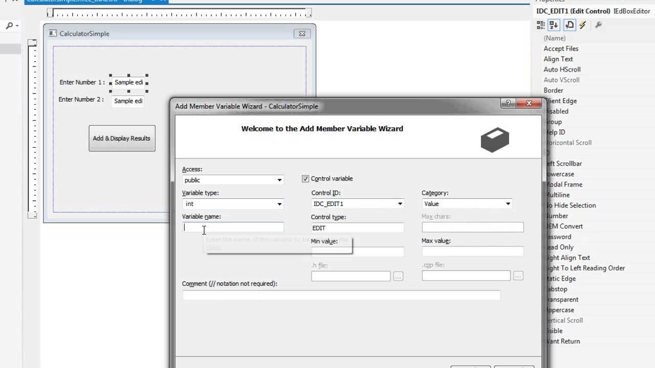 Visual C++ 2012 Tutorial for Beginner - YouTube