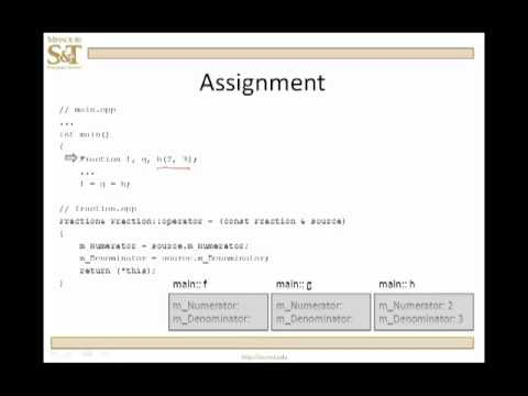 Copy assignment operator - cppreference com