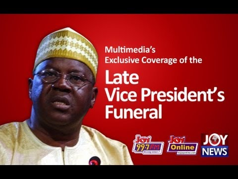 Former Vice President Aliu Mahama's Final Journey Begins (18-11-12)