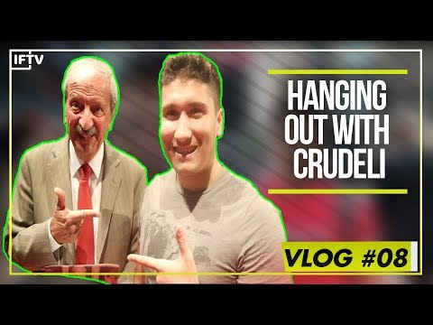 HANGING OUT WITH TIZIANO CRUDELI  He met his idol  Vlog 8