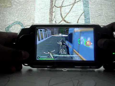 spiderman 3 gameplay in psp  part 1