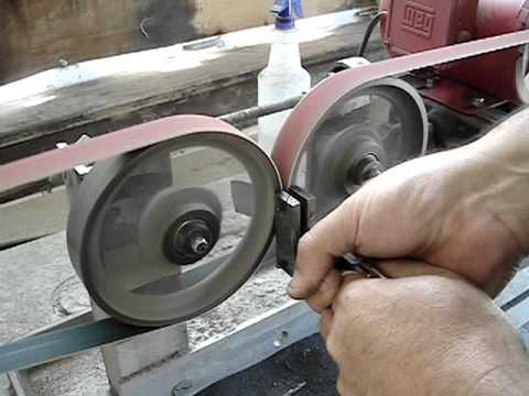 Double Wheel Hollow Grinder Youtube