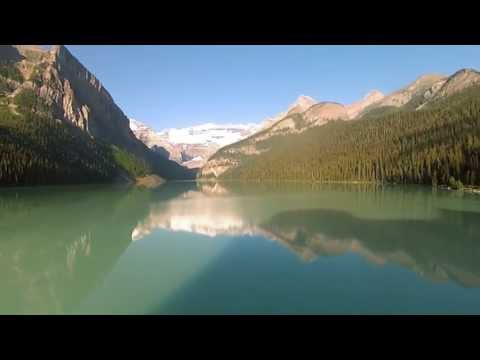 FPV Quadcopter - Canada 05 Morning at Lake Louise