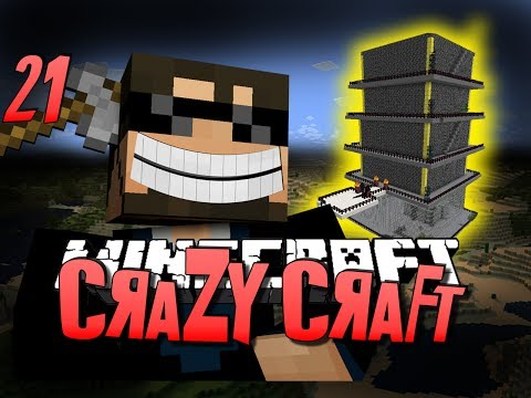 Minecraft CRAZY CRAFT 21 - ROYAL GUARDIAN DUNGEON (Minecraft Mod Survival)