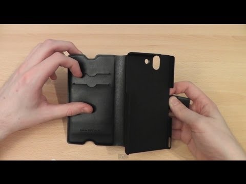 Muvit Slim Stand Sony Xperia Z Wallet Case Review