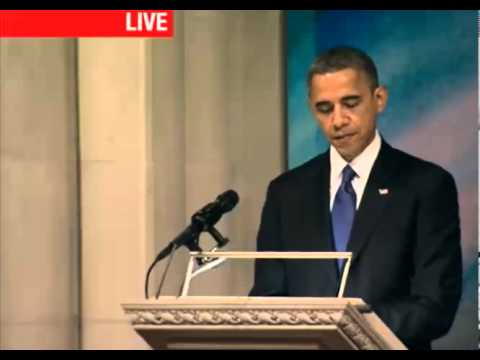 President Obama speaks at Senator Daniel Inouye Funeral Memorial Service in Hawaii