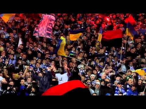 Фанаты спели песню про Путина на матче Динамо - Шахтер