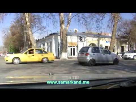 Улицы Самарканда январь 2013 - ул. Ш. Рашидова (Советская)