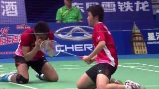 SF - XD (Highlight) - T.Ahmad/L.Natsir vs Zhang N./Zhao YL. - 2013 BWF World Championships