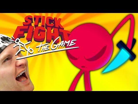 СЛИШКОМ ОРНАЯ ИГРА! ► Stick Fight The Game |8| Битва стикменов
