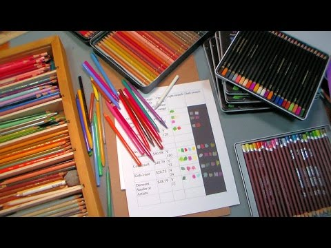 Colored Pencil Review: Are Spectrum Noir Pencils worth the money?