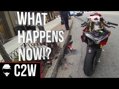 Ducati Panigale Crash - What happened!?
