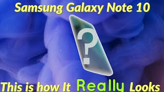 Samsung Galaxy Note 10|First Look Leaked!!!