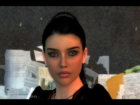 Half Life 2 Cinematic Mod (1080p): Episode One Alyx Skin Choices (Live Commentary)