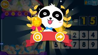 Little Panda Math Genius - Education Game For Kids Play & Learn Math, Count numbers, Addition