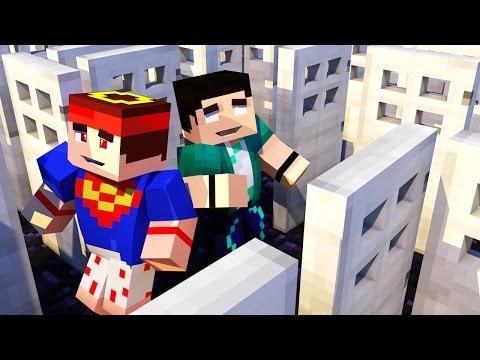 Minecraft - Desafios - Diversity 2 - #8 Labirinto De Portas Com Vilhena! +12 video