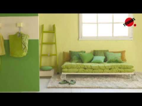 Tendencias 2009 en color youtube - Pintura para pared colores ...
