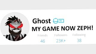 the GHOST took over my POPULAR Roblox game..
