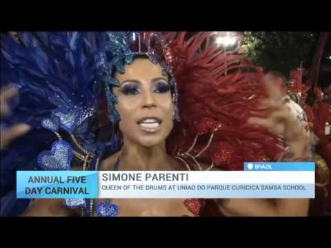 Anual 5 Day Carnival: Rio de Janeiro's famous carnival underway despite Zika virus warnings