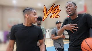 THE BEST DUO ON YOUTUBE ME AND CHARC VS DDG AND VON ( RESPECT ON THE LINE)
