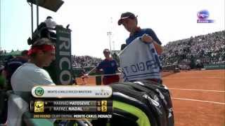 Nadal-Matosevic Highlights Montecarlo 2013 Rolex Masters
