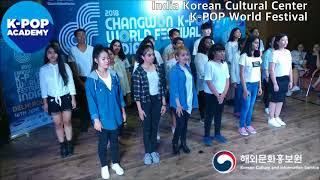 2018 K-pop Academy_주인도한국문화원_IndiaKoreanCulturalCenter-K-POP Festival Vocal