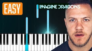 "Download Lagu Imagine Dragons - ""Zero"" 100% EASY PIANO TUTORIAL Gratis STAFABAND"