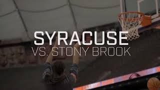 Visual Recap   Syracuse vs. Stony Brook