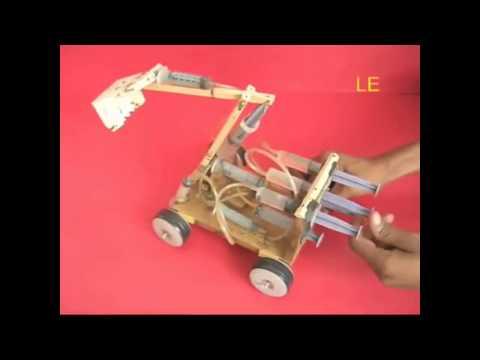 как сделать экскаватор из шприцов :: VideoLike