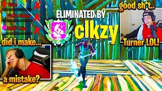 TFUE *TOXIC* after CLOAKZY *DESTROYS* his NEW TRIO! (Fortnite)