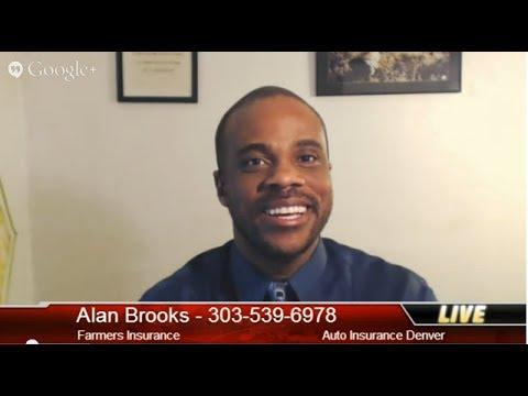 Auto Insurance Denver: Find Denver Insurance - 303-539-6978 - Alan Brooks - Denny Basham