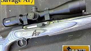Savage A17 17 HMR Semi Auto Rifle Review