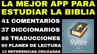 LA MEJOR APLICACIÓN PARA ESTUDIAR LA BIBLIA  (Nelson Berrú)