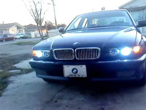 Bmw 740i E38 Headlights Youtube